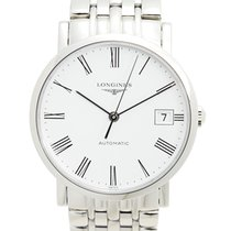 Longines Elegant Stainless Steel White Automatic L4.809.4.11.6