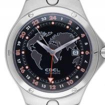 Ebel Sportwave GMT Stahl Automatik Armband Stahl 42mm Vintage...