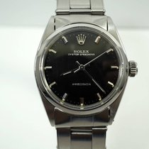 Rolex Speedking black gilt dial steel c. 1960