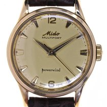 Mido Mans Automatic Wristwatch Multifort Powerwind