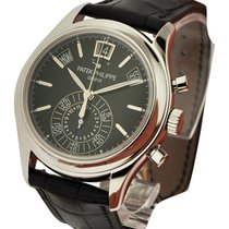 Patek Philippe 5960P-016 5960P Annual Calendar Chronograph -...