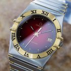 Omega Constellation Swiss 18k Gold And Stainless Steel Dress...