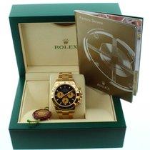 Rolex 116508 18k Yellow Gold Daytona Cosmograph 40mm Black Dial