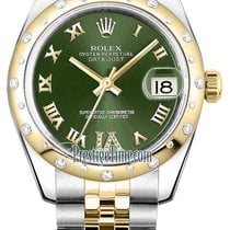 Rolex Datejust 31mm Stainless Steel and Yellow Gold 178343...