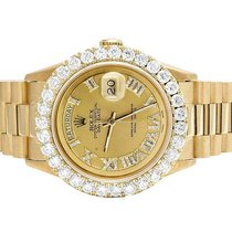 Rolex Mens Rolex Presidential 18K Yellow Gold Day-Date 36MM...