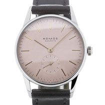 Nomos Orion 35 Manual Pink Dial