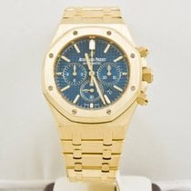 Audemars Piguet Royal Oak 26320BA  41mm Chronograph Blue Dial ...