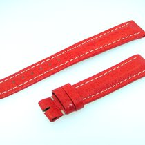 Breitling Band 16mm  Red Roja Calf Strap Ib16-07