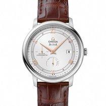 Omega DeVille Prestige Mens Watch Leather Strap 424.13.40.21.0...