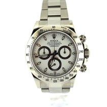 Rolex Daytona steel white dial perfect condition