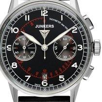 Junkers G38 Chronograph 6970-2 schwarz 42 mm 10 ATM
