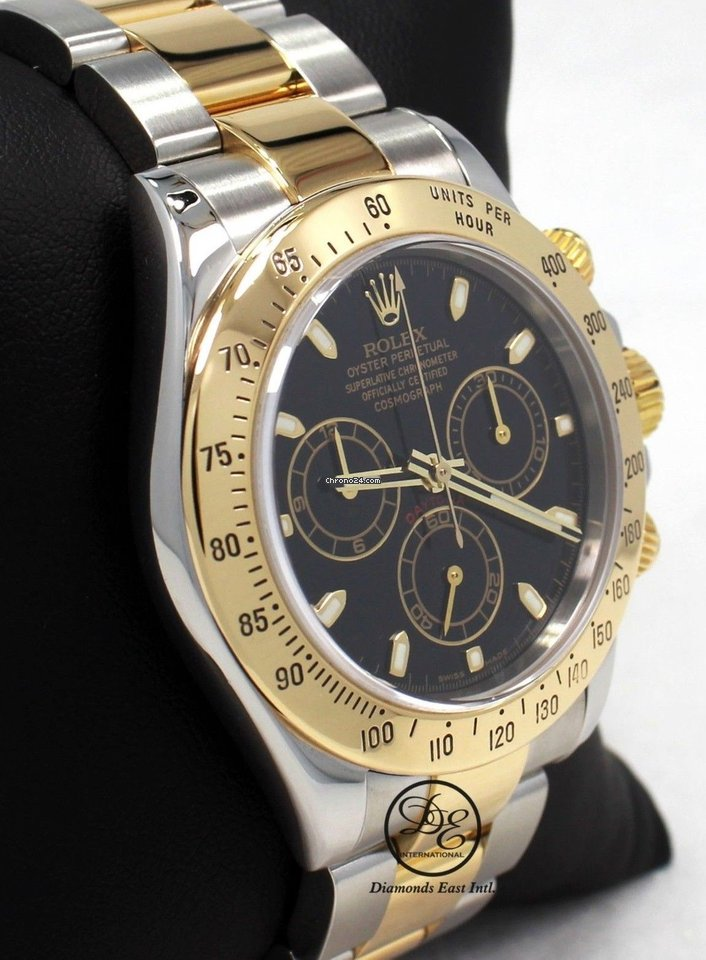 Rolex Daytona 116523 Cosmograph 2tone 18k Yellow Gold  ss... for AU ... 622a8c55f97