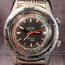 Enicar Sherpa Super-compressor Vintage 1969 Automatic Steel...