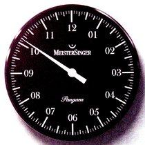 Meistersinger WU 18b klassische Einzeiger Wanduhr 18cm Glas