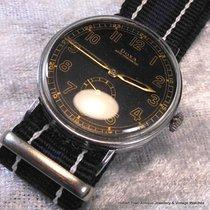 Doxa Stunning WW2 Orign; Black 24hr MINT Dial O'vsize...