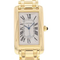 Cartier Large Tank Americaine 18K YG 1740