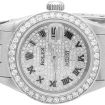 Rolex Ladies Stainless Steel 26MM Rolex Datejust Oyster Watch...