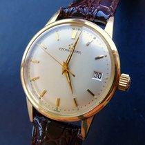 Eterna Matic Gelbgold 14K 585 Vintage Automatik Herren Armbanduhr