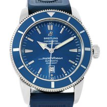 Breitling Superocean Heritage 46 Blue Dial Mens Watch A17320