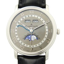 Blancpain Villeret Stainless Steel Gray Automatic 6654-1113-55B