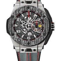 Hublot 401.NJ.0123.VR Big Bang Ferrari Mens 45mm Automatic in...