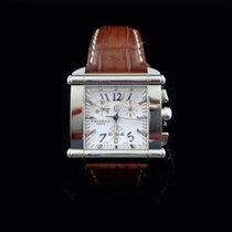 Charriol Actor Square XL Chronograph with papers and box.