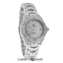 TAG Heuer Ladies Tag Heuer Link WJ1319.BA0572 Diamond SS Date MOP
