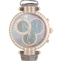 Harry Winston Premier Ladies Chronograph Watch PRNQCH40RR002