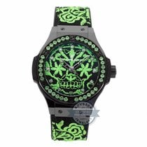 Hublot Big Bang Broderie Sugar Skull Fluo Malachik Limited...