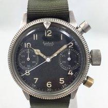 Hanhart World War II Flyback Chronograph 417ES RARE