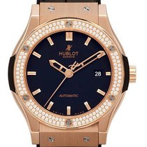 Hublot Classic Fusion 18 K Rotgold 42mm Diamond 542.OX.1180.LR...