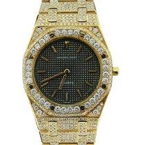 Audemars Piguet Royal Oak 18K Solid Yellow Gold Diamonds