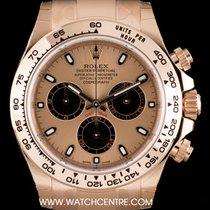 Rolex 18k R/G Unworn Rose Dial Cosmograph Daytona B&P 116505