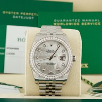 Rolex DateJust 36mm MOP Mother of Pearl