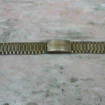 Rado vintage bracelet steel swiis made gold plated mm 18