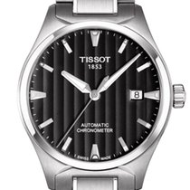 Tissot T-Tempo Automatic Cosc Black Dial 39mm T