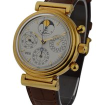 IWC IW375003 Da Vinci Perpetual Calendar - Yellow Gold on...