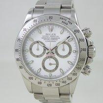 Rolex Daytona Steel White Dial Full Set
