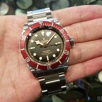 帝陀  (Tudor) 79220R Steel Bracelet (888) Heritage Black Bay 41mm