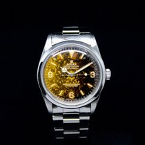 "Rolex Explorer 1 1016 ""funky marble dial"" circa 1965"