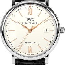 IWC Portofino Automatic 40mm Silver Plated Dial