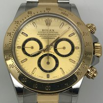 Rolex DAYTONA STEEL/GOLD ZENITH 6 INVERTED YEAR 1991