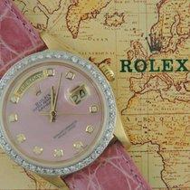 Rolex 18038 Custom Pink MOP Dia. Dial Custom Dia. Bezel