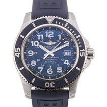 Breitling Superocean II 44 Date Blue Dial