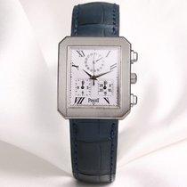 Piaget Protocole 14254 18k White Gold chronograph