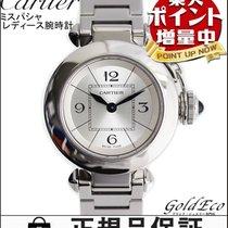 Cartier 【カルティエ】腕時計 レディース ミスパシャ電池式 ステンレス シルバークォーツ シルバー文字盤W31400...
