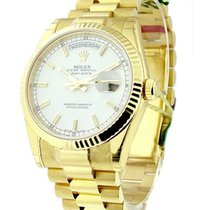 Rolex Unworn 118238 President Day Date 36mm in Yellow Gold...
