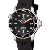Deep Blue Master 1000 Diver Automatic 44mm Watch 330m Wr Black...