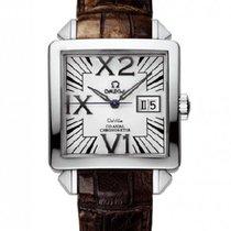 Omega De Ville X2 Co-Axial 35 Big Date White Gold Watch