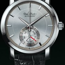 Paul Picot FIRSHIRE  RONDE  DAY& DATE  strap skin black...